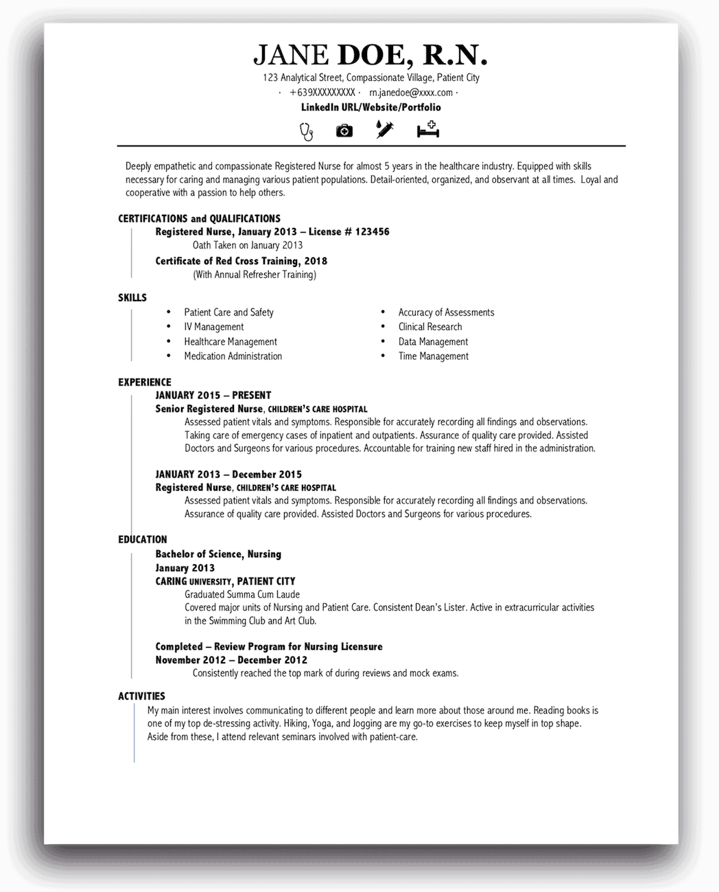 Functional Resume Templates